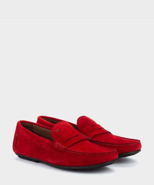 Mocasines | PACIFIC 1411-2496X | ROUGE | Martinelli