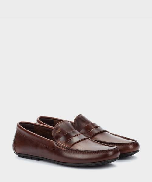 Mocasines | PACIFIC 1411-2496B | COGNAC | Martinelli