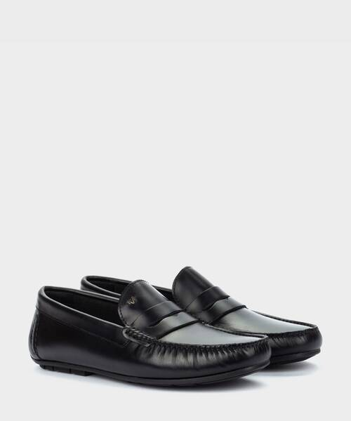 Mocasines | PACIFIC 1411-2496B | BLACK | Martinelli